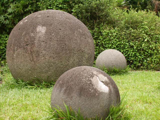 Esferas de piedra en el Museo Nacional