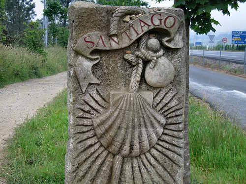 España Santiago de Compostela Camino de Santiago
