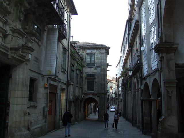 España Santiago de Compostela Casco antiguo