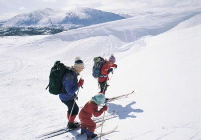Esquí de fondo en Suecia