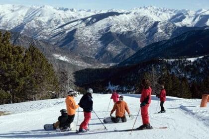 esquiar en Espot Esquí