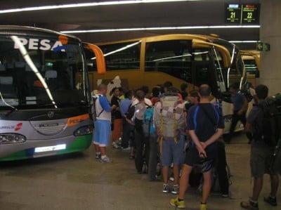 Estacion de autobús de Pamplona