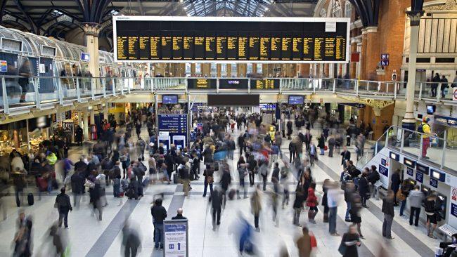 Estación de Liverpool Street, Londres