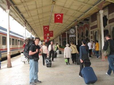 Estación de tren, Turquía