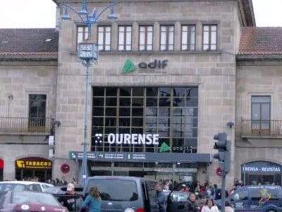Estación de trenes de Ourense
