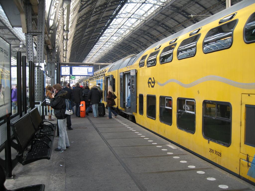 Estacion de tren de Ámsterdam
