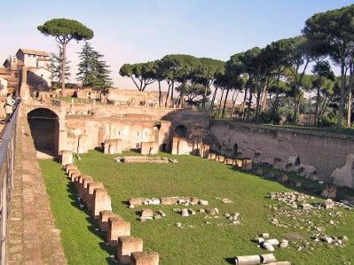 Estadio del Palatino, Roma