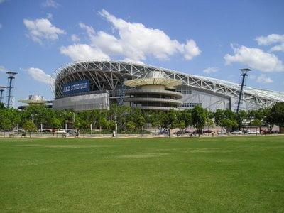 Estadio Central en Parque Olímpico de Sidney