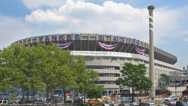 Estadio de los Yankees, en el Bronx, Nueva York