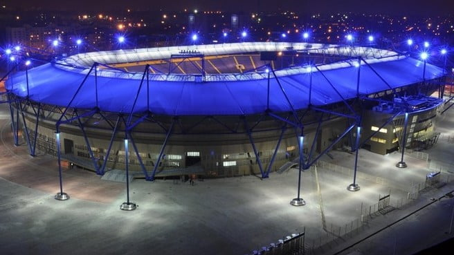Estadio Metalist Sede de la Eurocopa