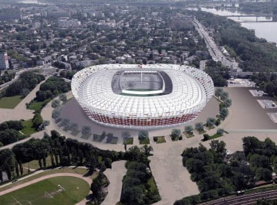 Estadio Nacional de Varsovia Sede de la Eurocopa