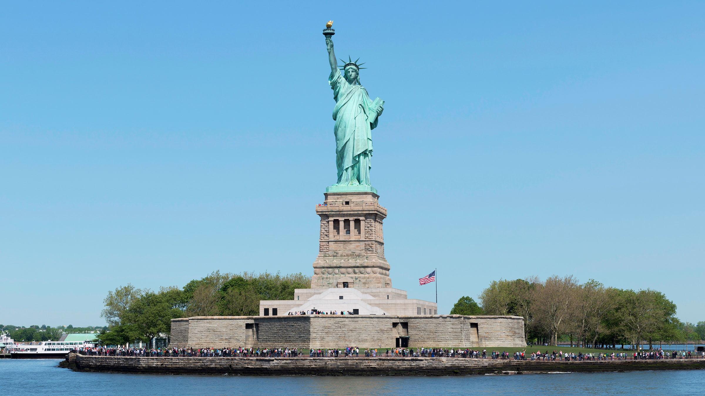 Estatua de la libertad nueva york for Interior estatua de la libertad