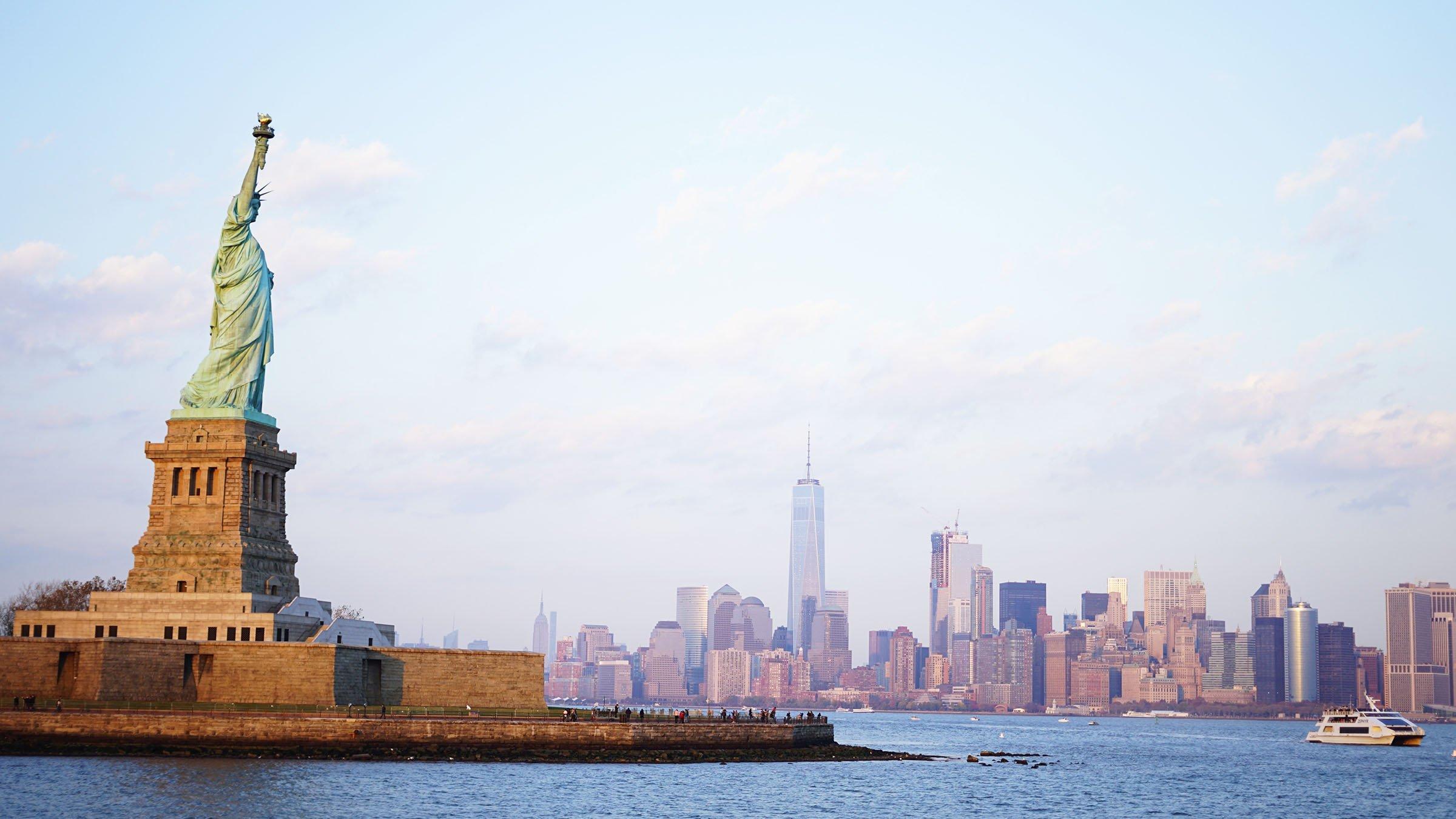 New York Estatua de la libertad