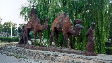 Estatuas de La Ruta de la Seda