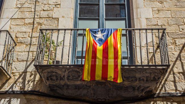 エステラダブラバ:カタルーニャ独立フラグ