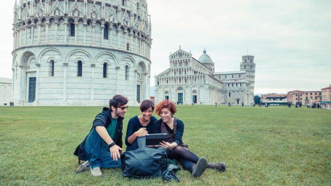 Geh nach Italien, um zu studieren