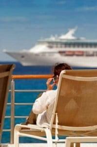 Excursiones en cruceros descansando