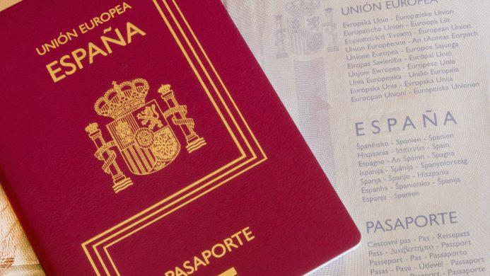 Ausstellung des spanischen Passes