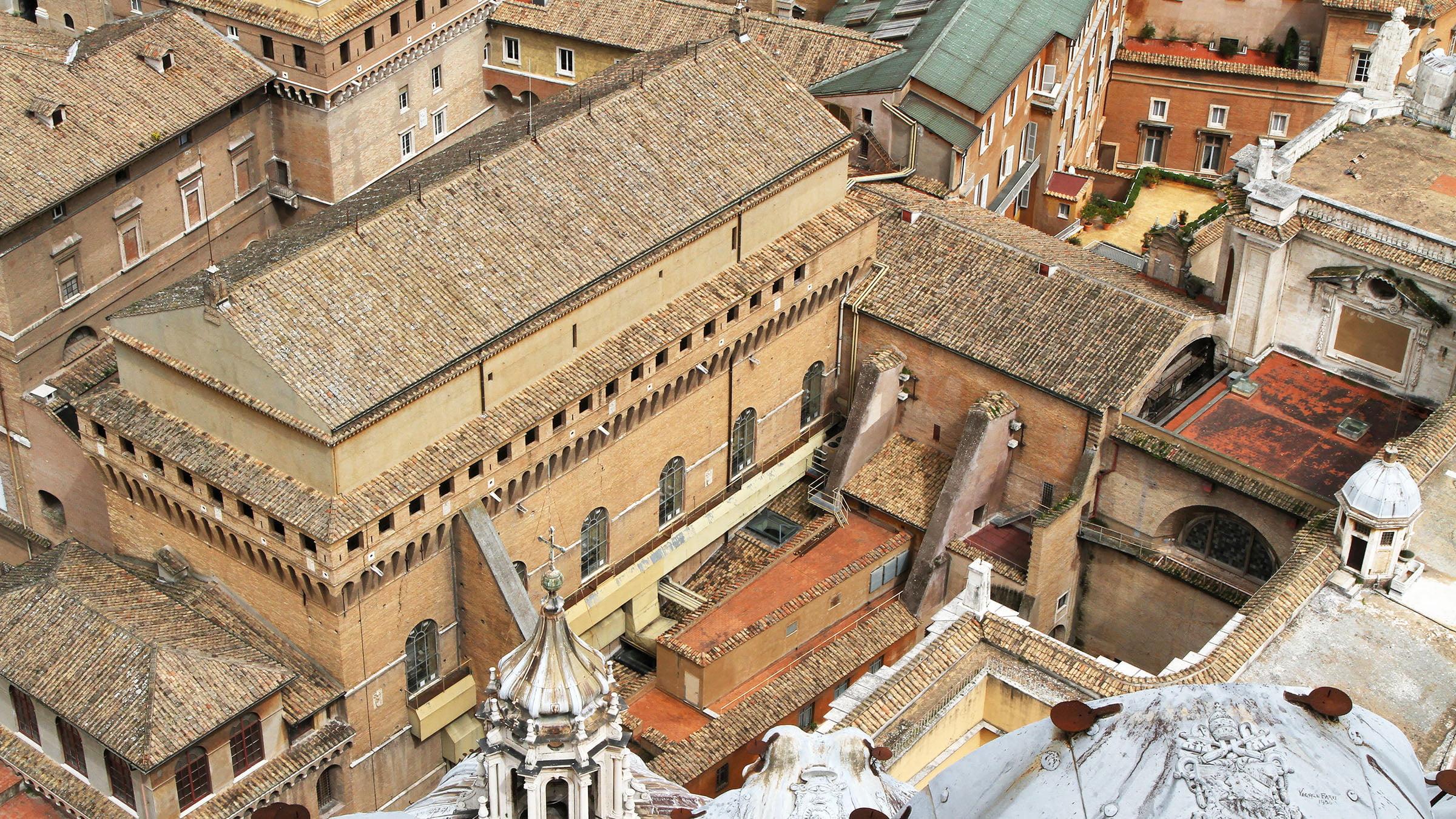 la capilla sixtina roma