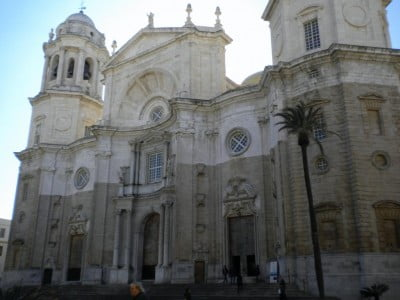 Fachada de la Catedral de Cádiz