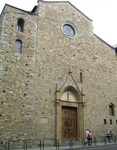 Fachada de la Iglesia Santa Maria Maggiore