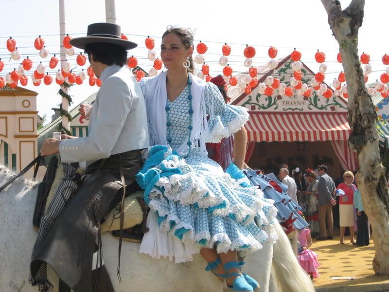 Feria de abril de Sevillla