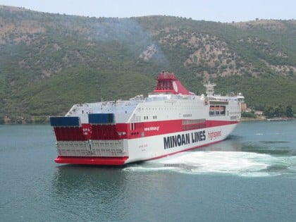 Ferry de Italia a Grecia