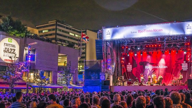 Festival de jazz - en Montreal, Canadá