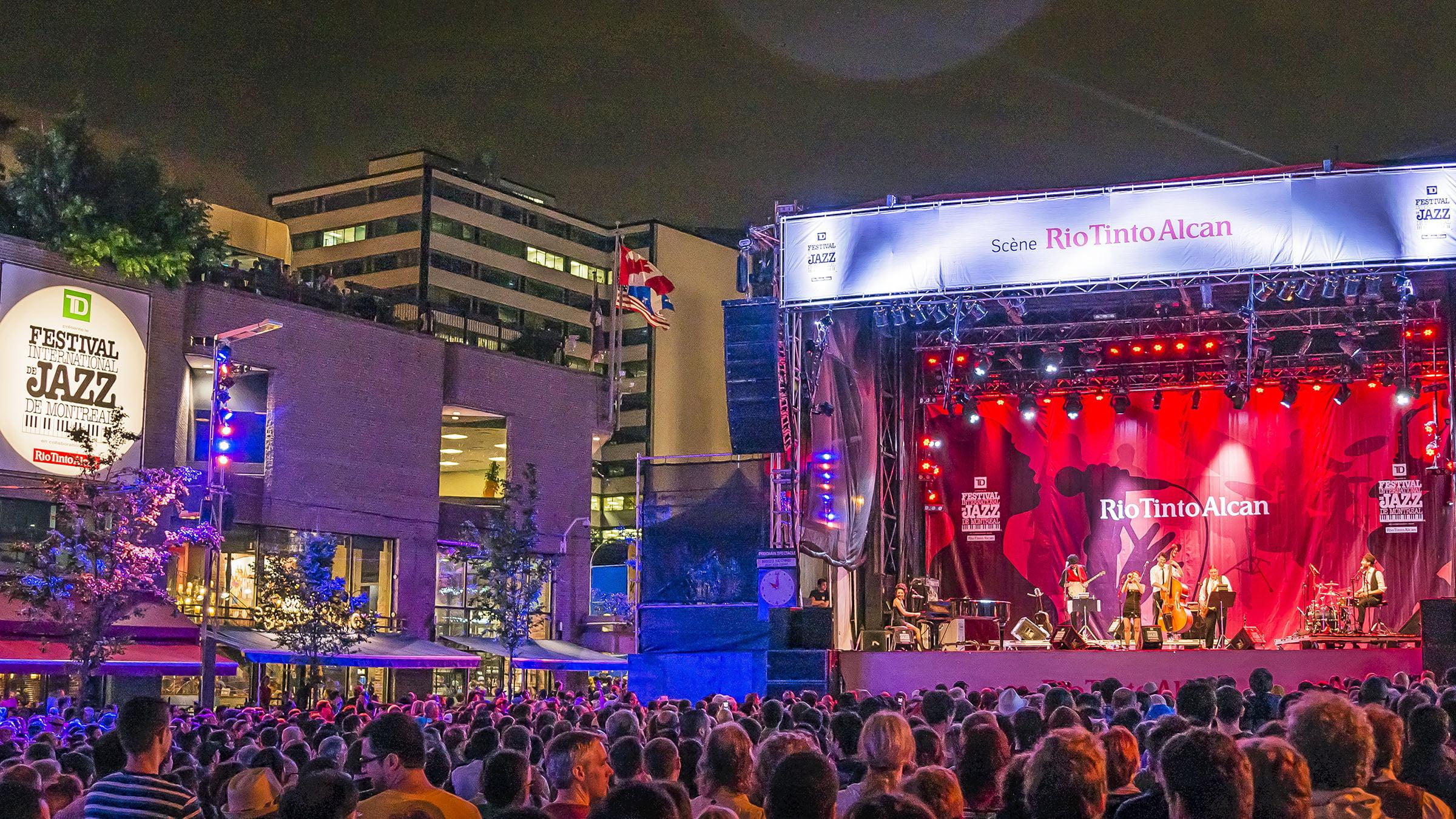 Festival de jazz - en Montreal Canadá