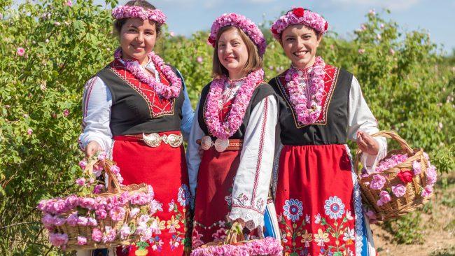 Festival de las Rosas en Bulgaria