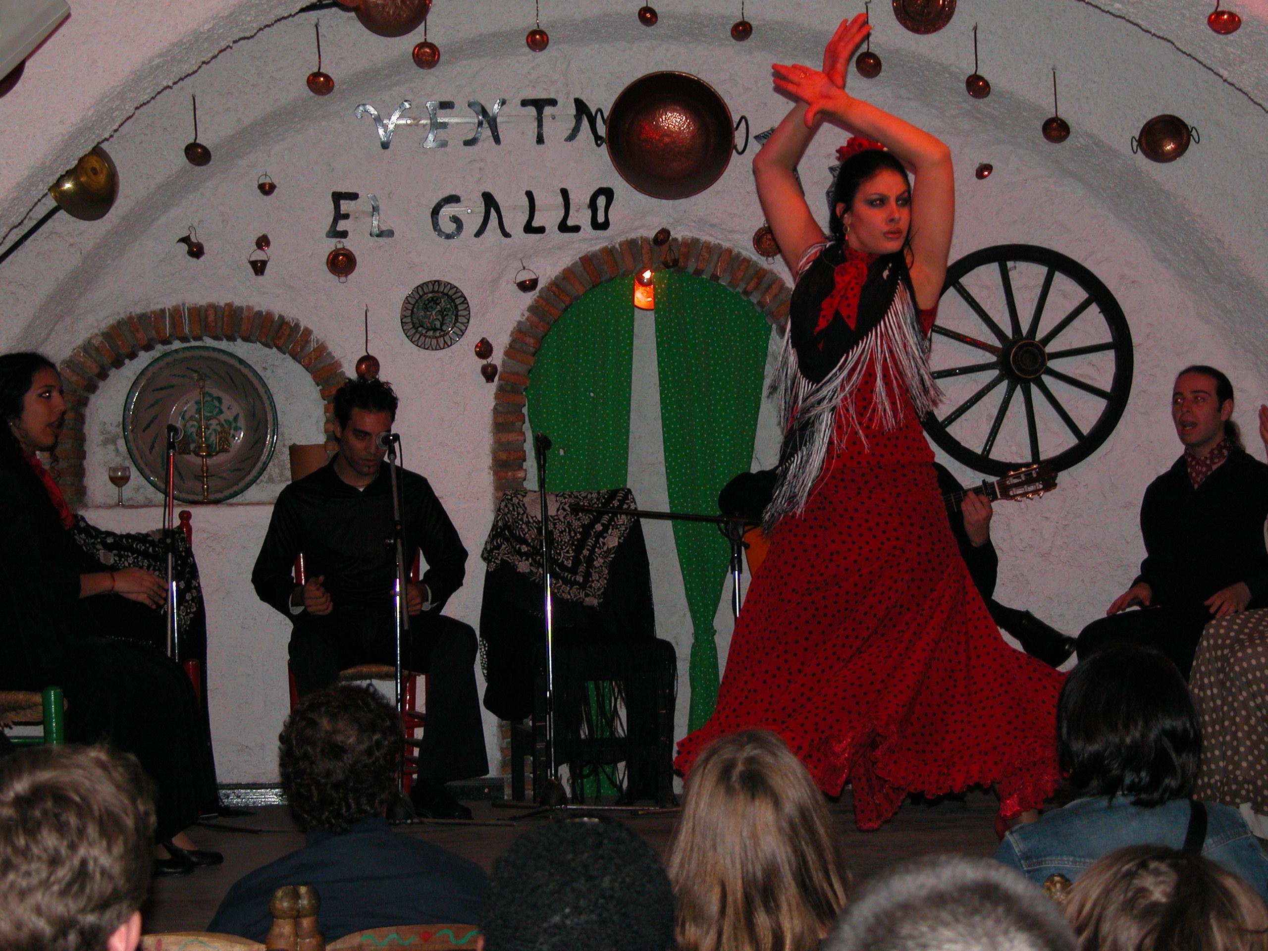 Fiesta de flamenco gitano