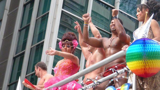 Fiesta del orgullo gay en São Paulo