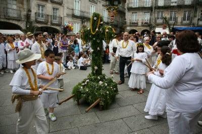 Fiesta dos Mayos, Vigo