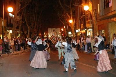 Fiestas en Palma