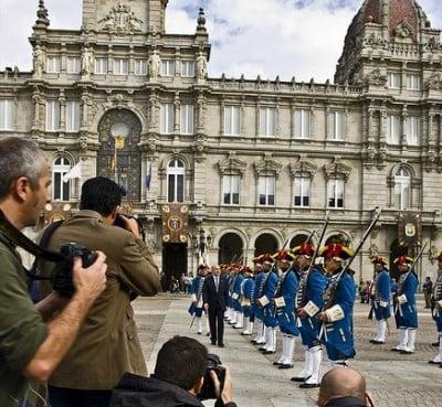 Fiestas patronales, A Coruña