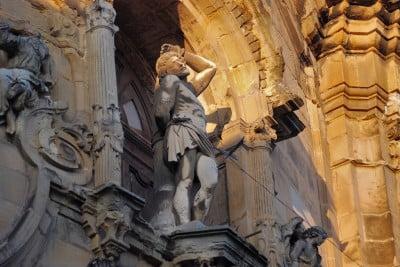 Figura de San Sebastián Martirizado