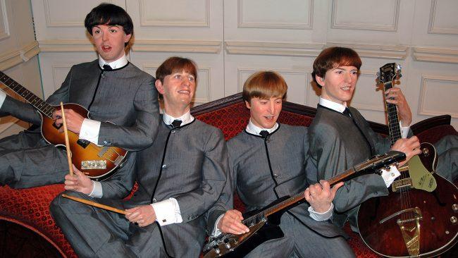 Figuras de los Beatles en el Museo Madame Tussauds, Londres