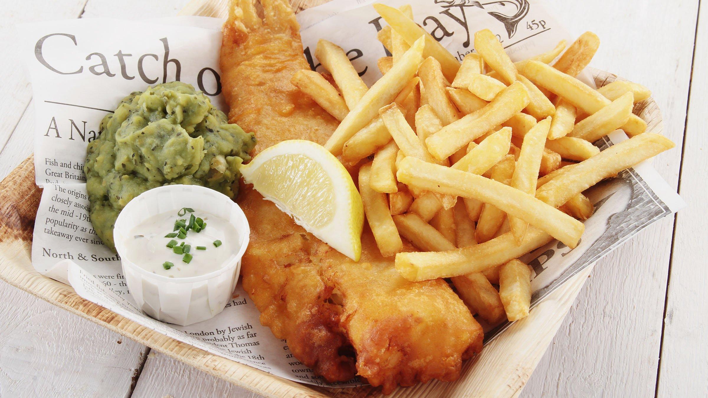 Fish and chips una opci n neozelandesa de comida r pida for Una comida rapida