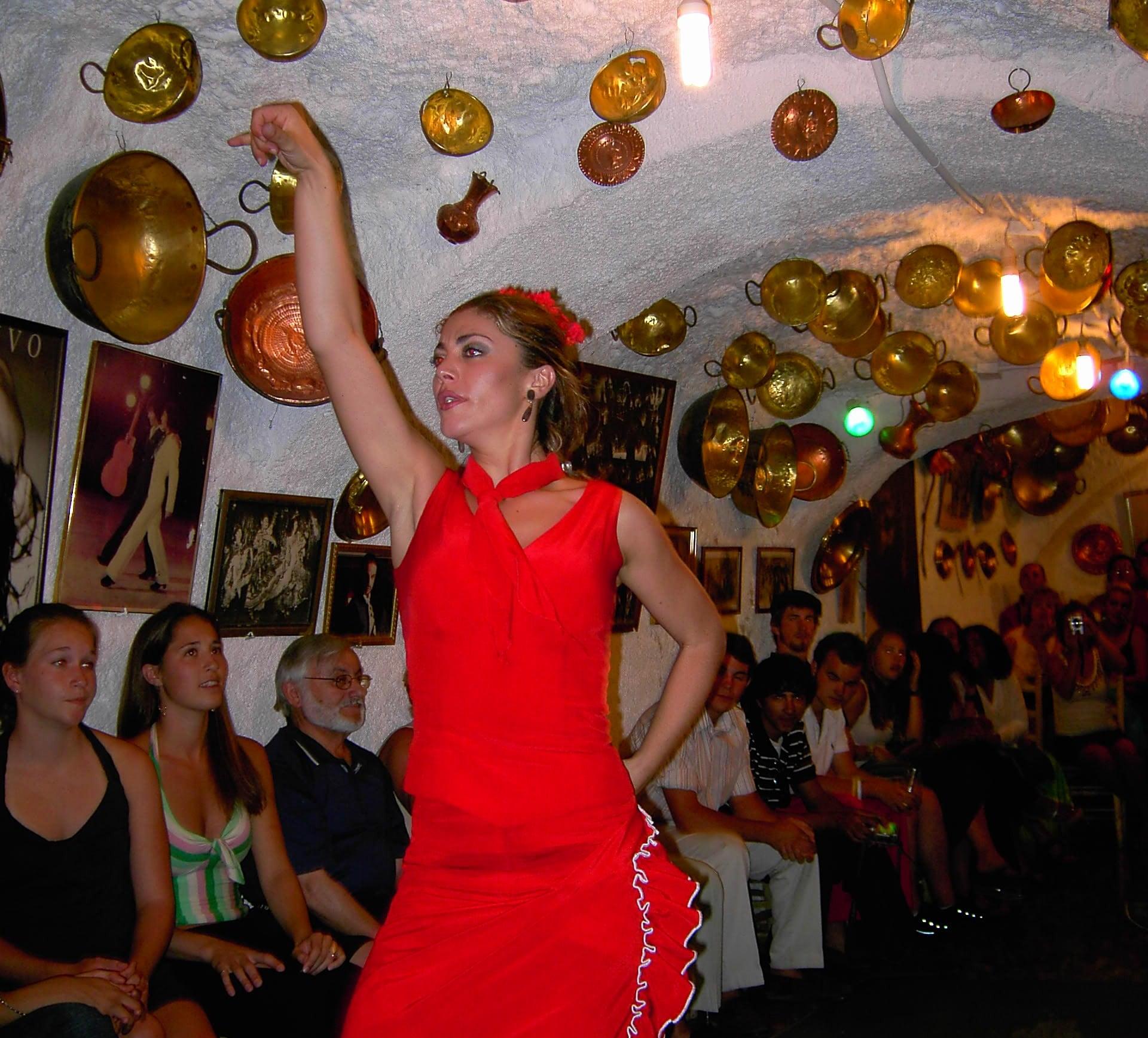 Flamenco en el Sacromonte de Granada