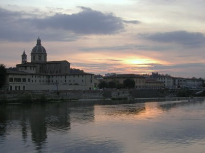 Florencia en otoño