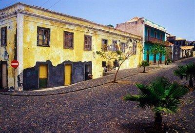 Fogo, Cabo Verde calles