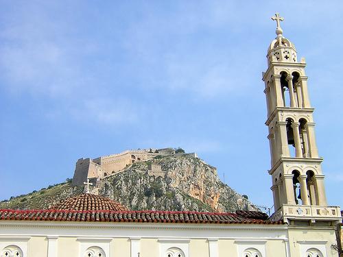 Fortaleza veneciana del puerto