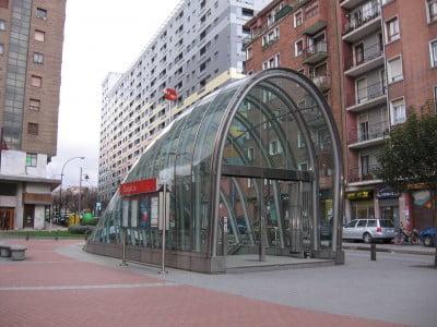 Fosterito del Metro de Bilbao