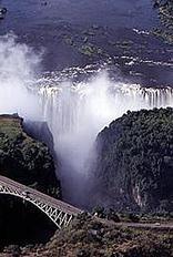 Paisajes: Las Cataratas de Victoria,