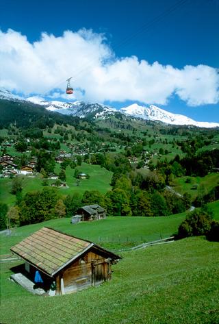 Foto de Grindelwald en Suiza, Europa