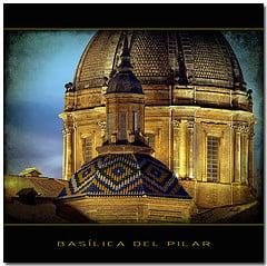 Foto de la Basílica del PIlar,Zaragoza, España