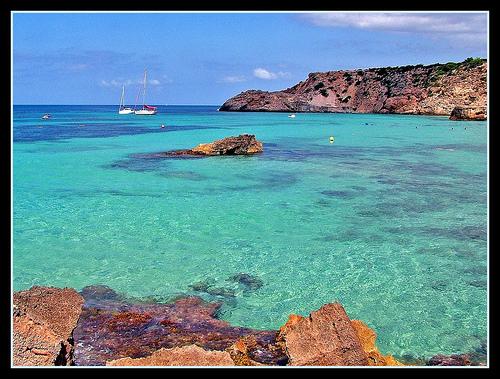 Foto de la Cala Tarida, Ibiza