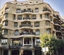 Foto de la Casa Milá en Barcelona
