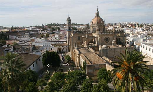 Foto de la catedral de Jerez de la Frontera