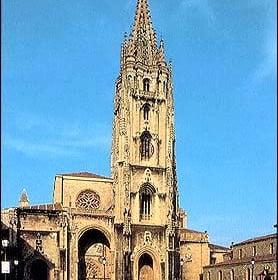 Fotografía de la Catedral de Oviedo, Asturias